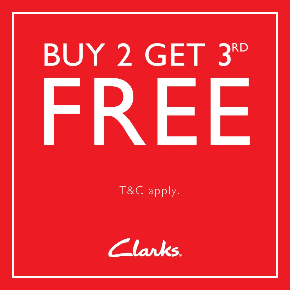 Clarks - Outlet Raya Promotion 2018 (1000px x 1000px)