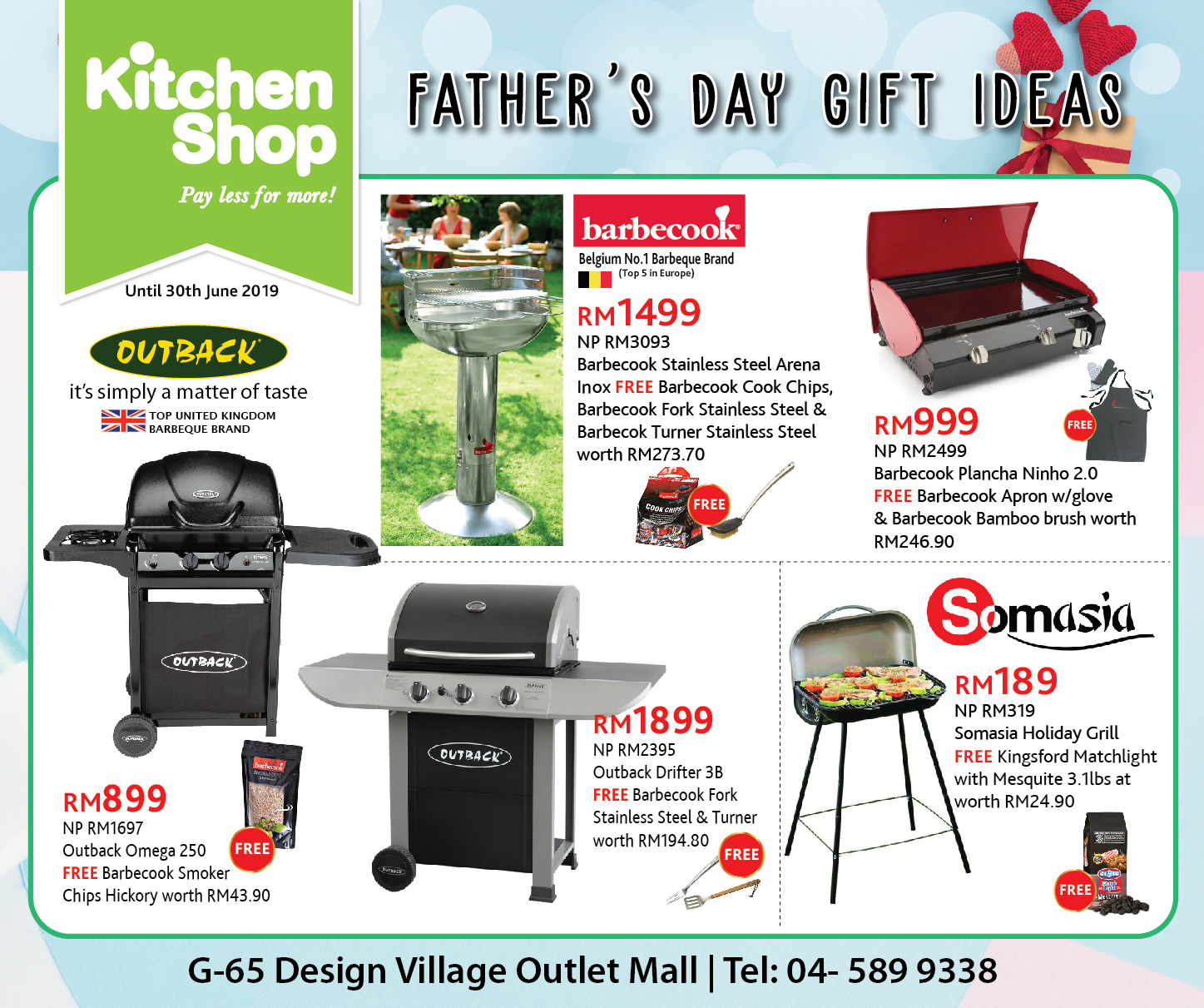 34cc186d4bf Kitchen Shop Father's Day Gift Ideas