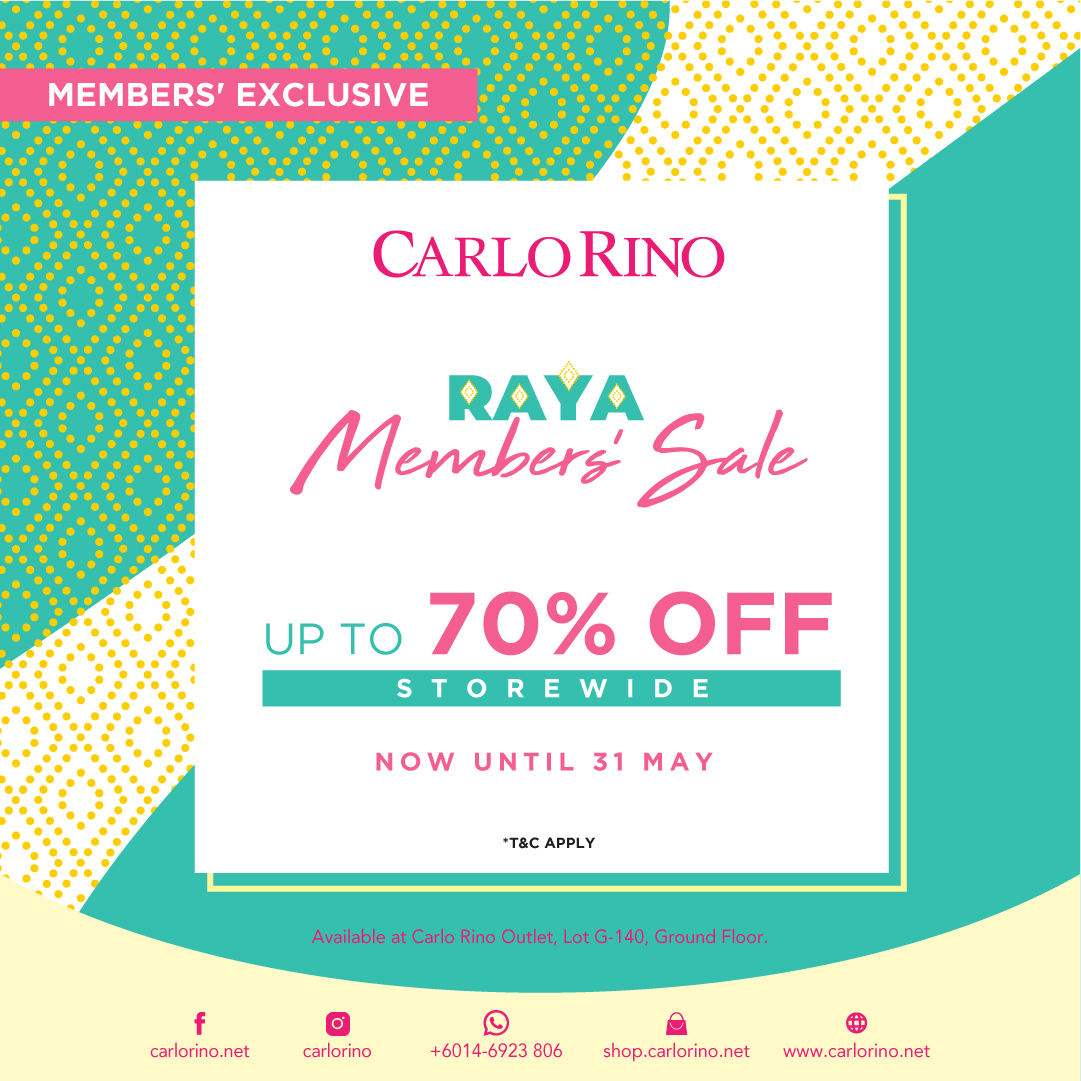 CR_31MAY_RAYA MEMBERS SALE_FB_OUTLET_DESIGN VILLAGE